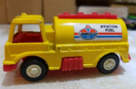 1970 Tootsie Toy Aviation Refueling Truck Amoco Aviation Fuel