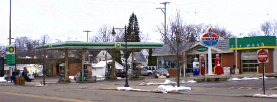 BP station in Durand Michigan photo Wikipedia